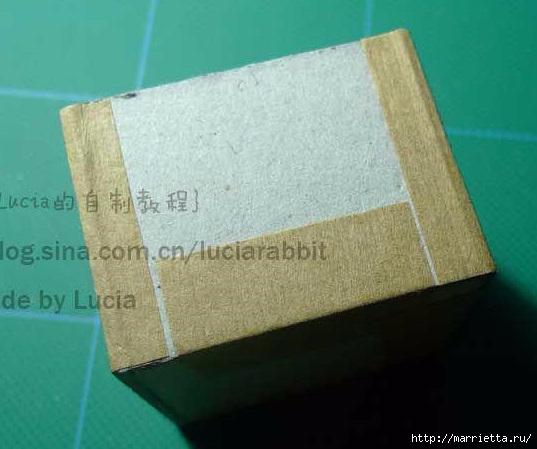 Шкатулка из картона своими руками (15) (537x449, 118Kb)