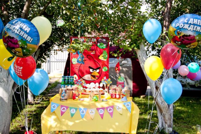 День рождения на даче фото