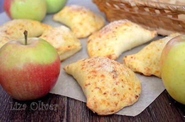 Яблочные пирожки (604x400, 49Kb)