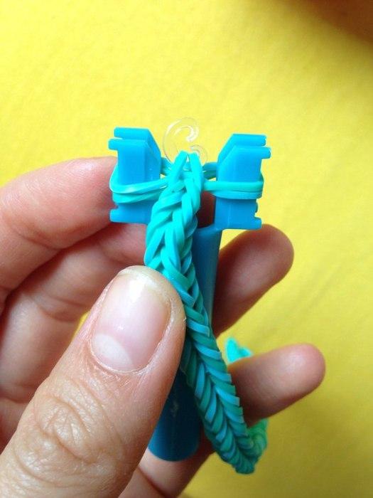 Как сделать застежку на браслет из нитки