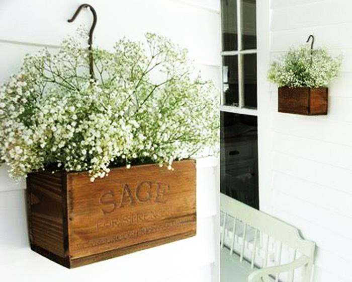Ящики декоративные деревянные для цветов 145