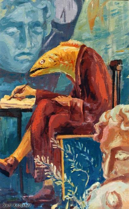 Портрет философа пишущего эссе обо мне - пишущем портрет философа (432x700, 362Kb)