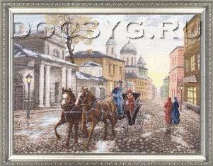 схема вышиви Московская улочка (301x235, 87Kb)
