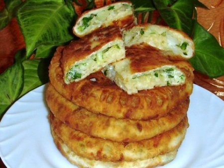 сырные лепешки зеленый лук (450x337, 150Kb)
