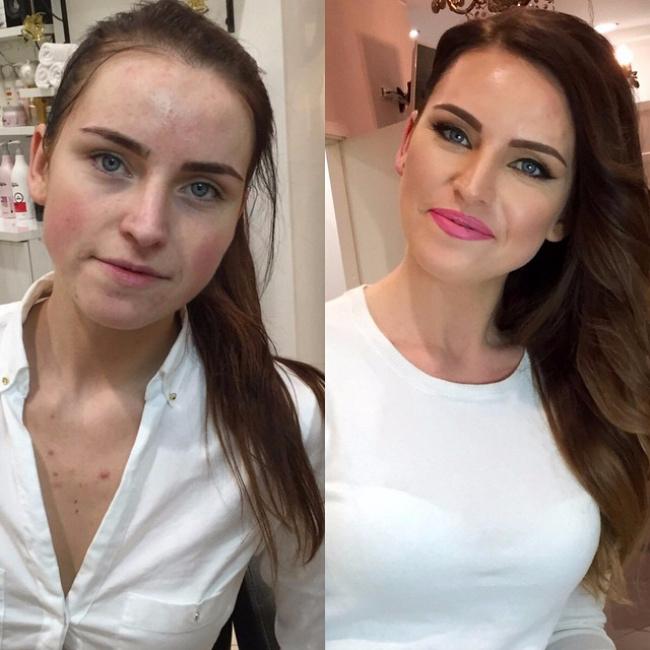 красивый макияж до и после 1 (650x650, 303Kb)