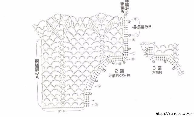 Ажурная летняя блуза крючком (2) (640x386, 102Kb)