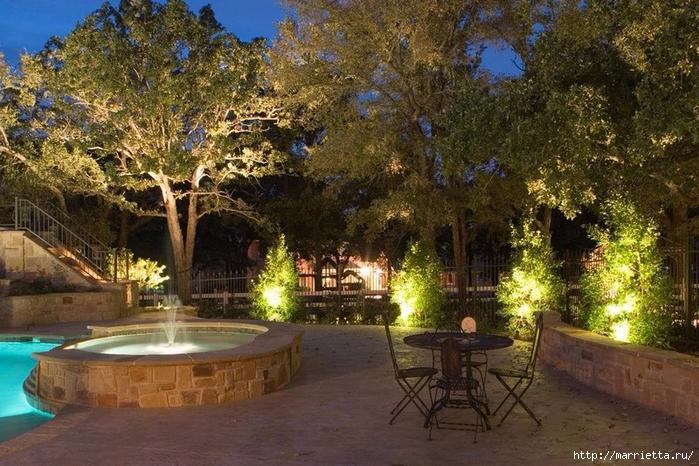 Правильное освещение – красивый сад (4) (700x466, 336Kb)