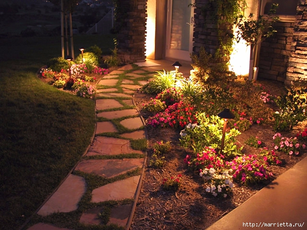 Правильное освещение – красивый сад (10) (600x450, 272Kb)