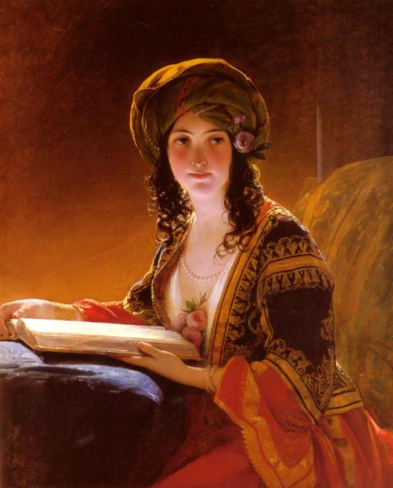 Фридрих фон Амерлинг (нем. Friedrich von Amerling, 14 апреля 1803, Вена — 14 января 1887, Вена) — австрийский художник. (563x700, 52Kb)