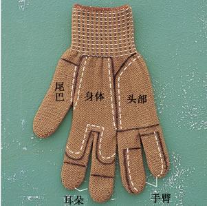 Бурундук из перчатки. Мастер-класс (1) (301x299, 80Kb)