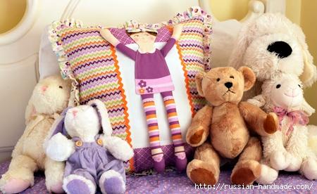 Подушка с куколкой для девочки. Мастер-класс (15) (450x276, 132Kb)