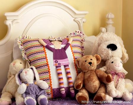 Подушка с куколкой для девочки. Мастер-класс (21) (450x353, 145Kb)