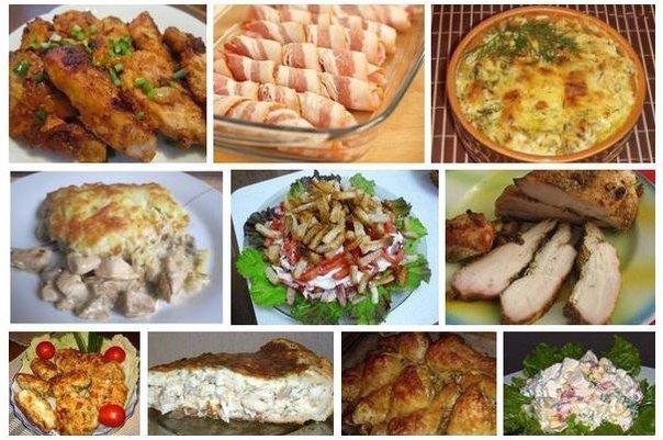блюд из курицы (604x401, 77Kb)