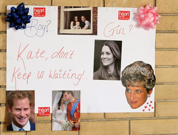 Первые фотографии новорожденной дочери герцогини Кембриджской Кейт и принца Уильяма