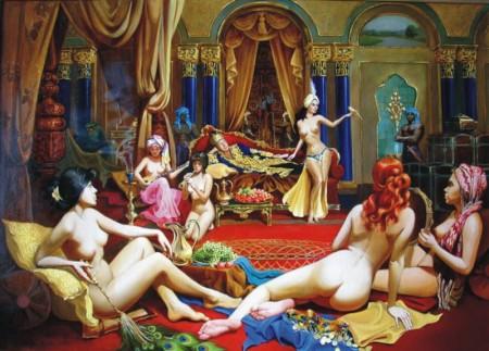 Секс султанов в гареме