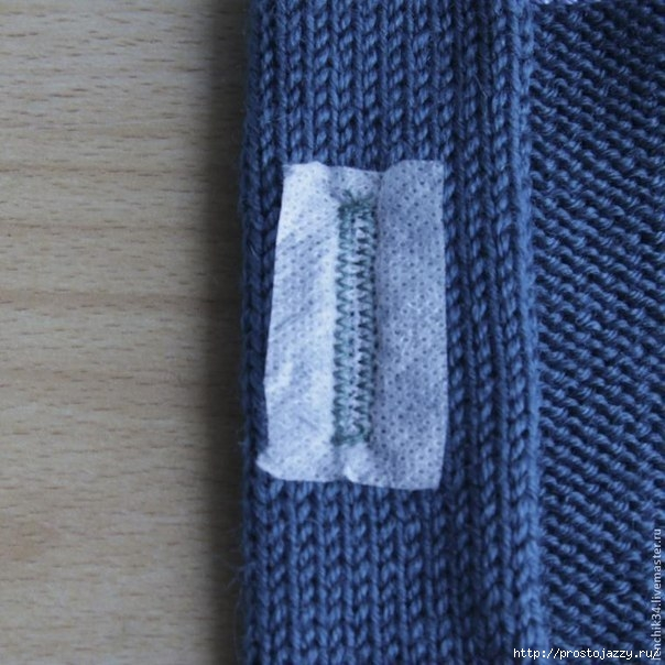 Как поставить петли под пуговицы на вязаных изделиях1 (604x604, 207Kb)