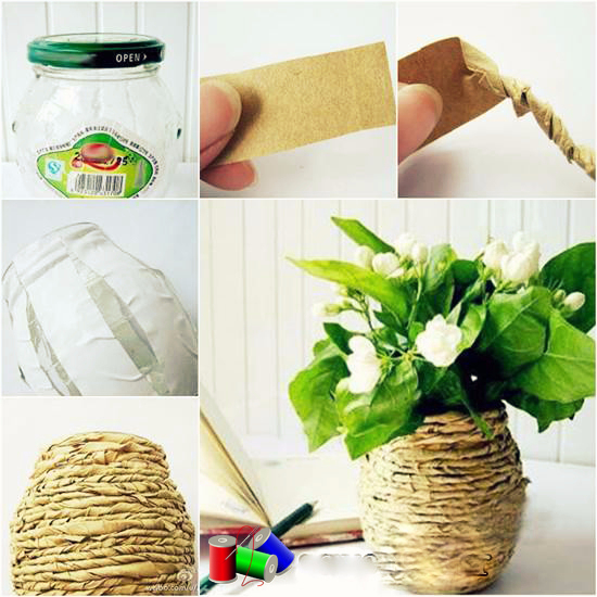 How-to-DIY-Kraft-Paper-Decorated-Flower-Vase (550x550, 311Kb)
