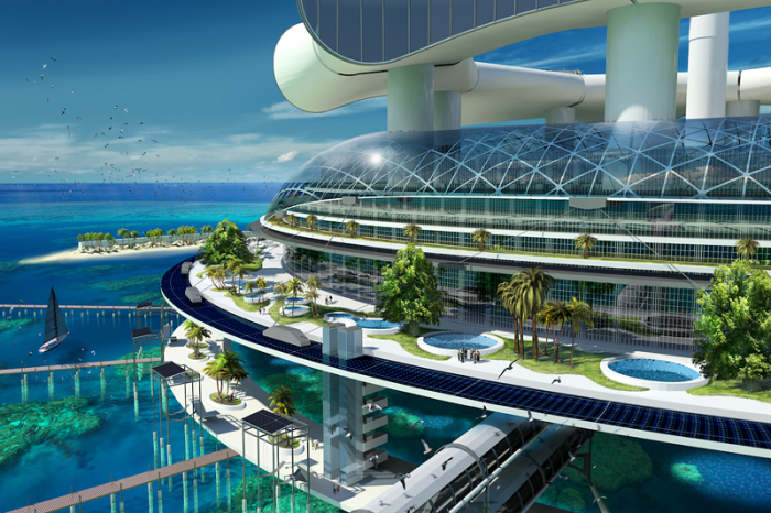экологический остров Grand Cancun 3 (700x466, 617Kb)