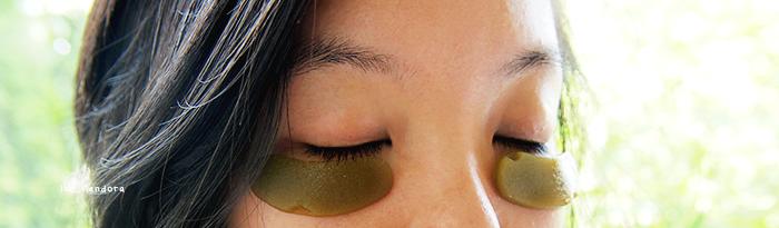 DIY beauty greentea lemon eyegel patch finished me2 (700x205, 442Kb)