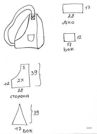 Выкройка сумки переноски для собаки своими руками
