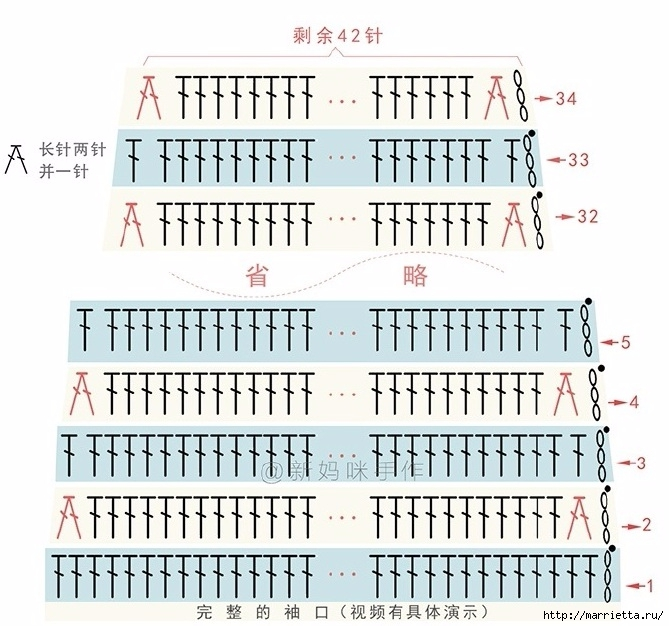 Теплое платьице крючком для девочки (9) (669x626, 238Kb)