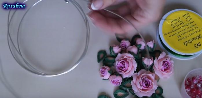 Колье из полимерной глины своими руками - мастер-класс (20) (700x340, 194Kb)