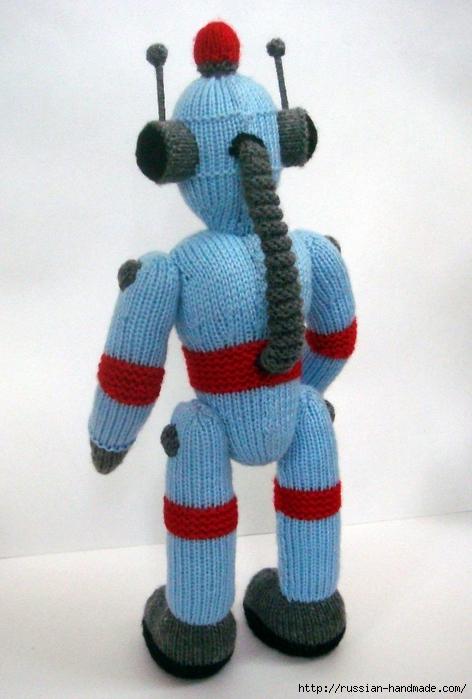 Игрушка РОБОТ спицами. Описание вязания (7) (472x699, 257Kb)