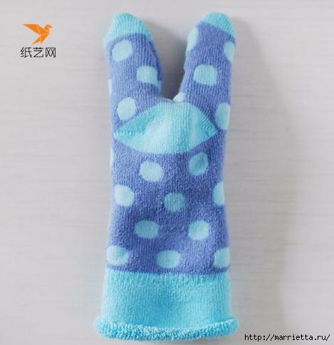 Забавные кролики из носков. Мастер-класс (6) (469x484, 81Kb)
