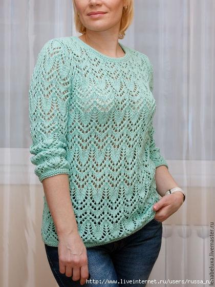 88ba1678c2670f704454029b3dek--odezhda-pulover-azhurnyj-myatnogo-tsveta (420x560, 162Kb)