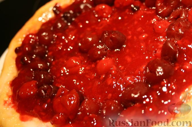 кефирный торт с ягодами (673x447, 212Kb)