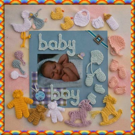 Альбом для малыша своими руками мастер класс