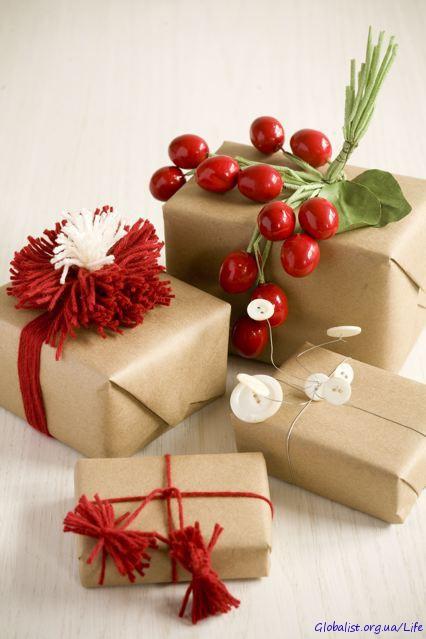 Подарки к новому году оптом, Упаковка подарков на новый год.