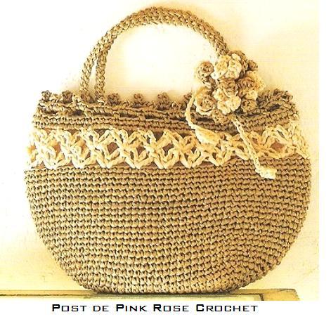 Bolsa de Croche Bege - RoseCrochet (471x461, 57Kb)