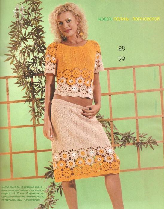 Платья женские вязаные крючком