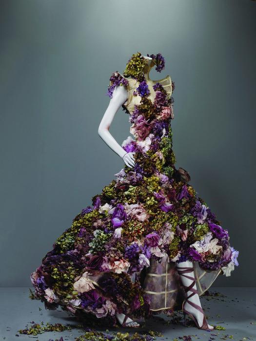 Цветочное платье фото 7