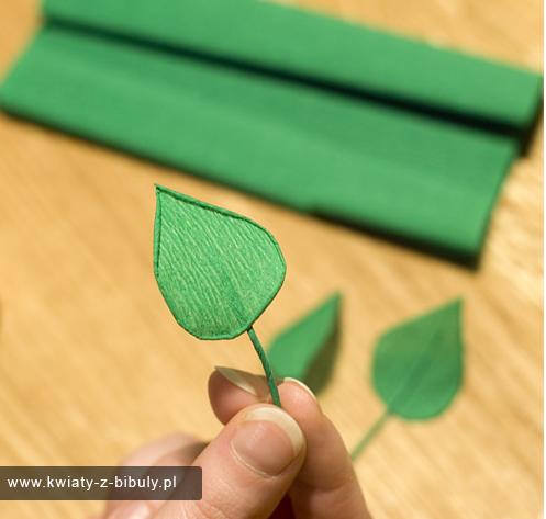 Как сделать веточку из бумаги