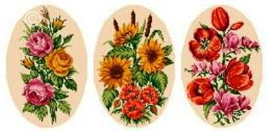 цветочное трио (387x189, 18Kb)