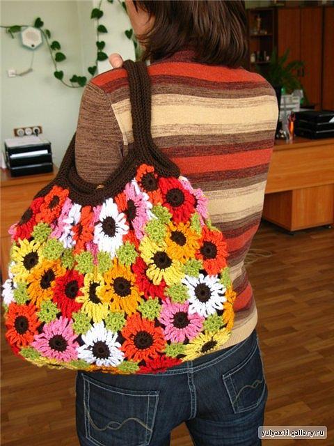 Tojazragore.  Рукоделие летняя сумка крючком Схемы.  97873 байтДобавлено.