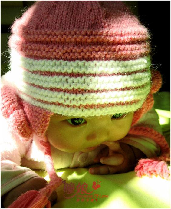 Вязание Спицами Чепчика Для Новорожденных