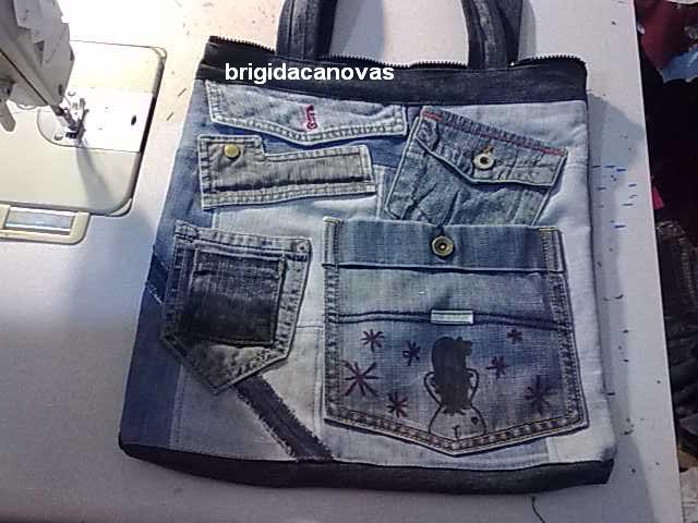 шьем сами джинсовую сумку
