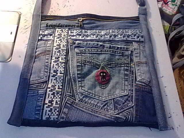 Привет Плюшкиным: 36 идей для джинсовых сумок.
