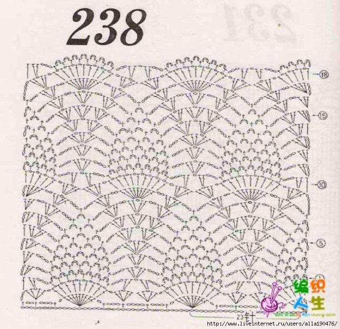 Мамочкин канал вязание крючком схемы 25