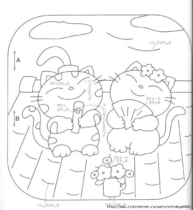 Пэчворк, фото - маленькие панно для детской.  Маленькие, но оригинальные схемы для тех, кто увлекается этим видом...