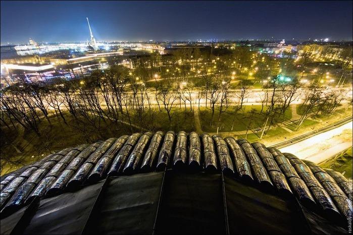 Виды Петербурга фото руфера Виталия Раскалова 8