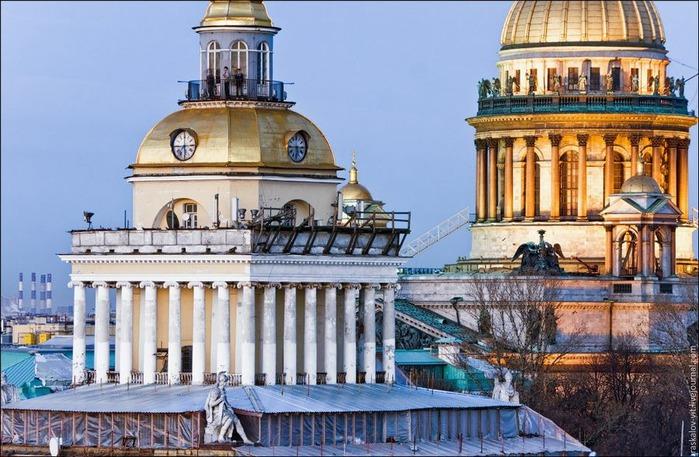 Виды Петербурга фото руфера Виталия Раскалова 15