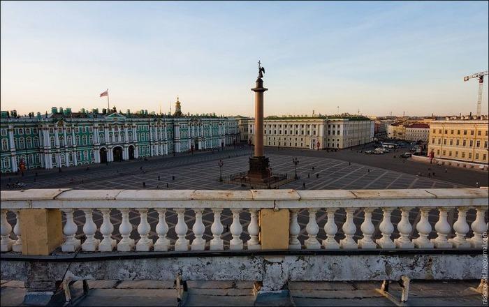 Виды Петербурга фото руфера Виталия Раскалова 18