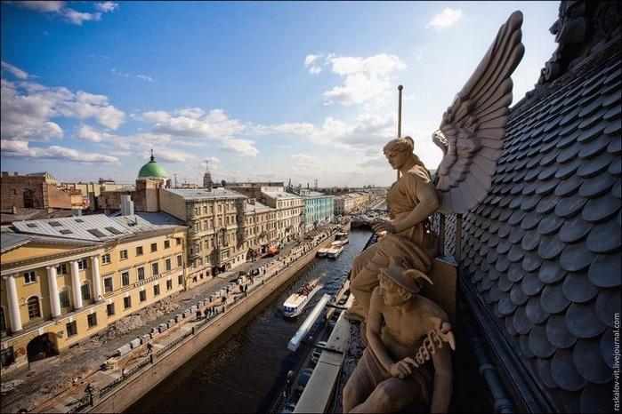 Виды Петербурга фото руфера Виталия Раскалова 21
