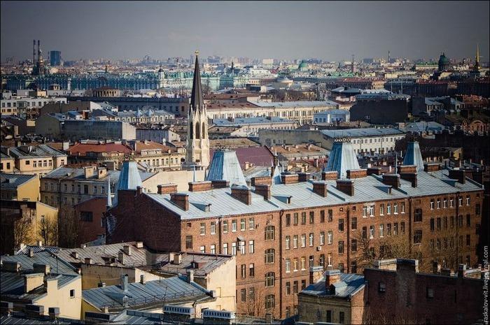 Виды Петербурга фото руфера Виталия Раскалова 23