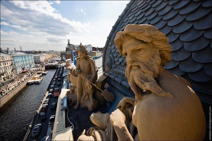 Виды Петербурга фото руфера Виталия Раскалова 26