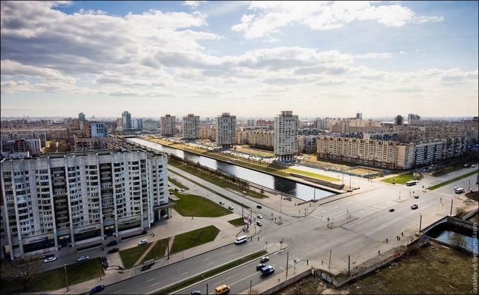 Виды Петербурга фото руфера Виталия Раскалова 30